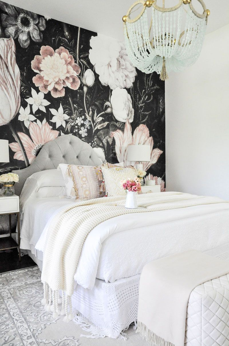 Projects And Plans Exciting Room Updates By Wallpaper Bedroom Beautiful Bedrooms Bed Design