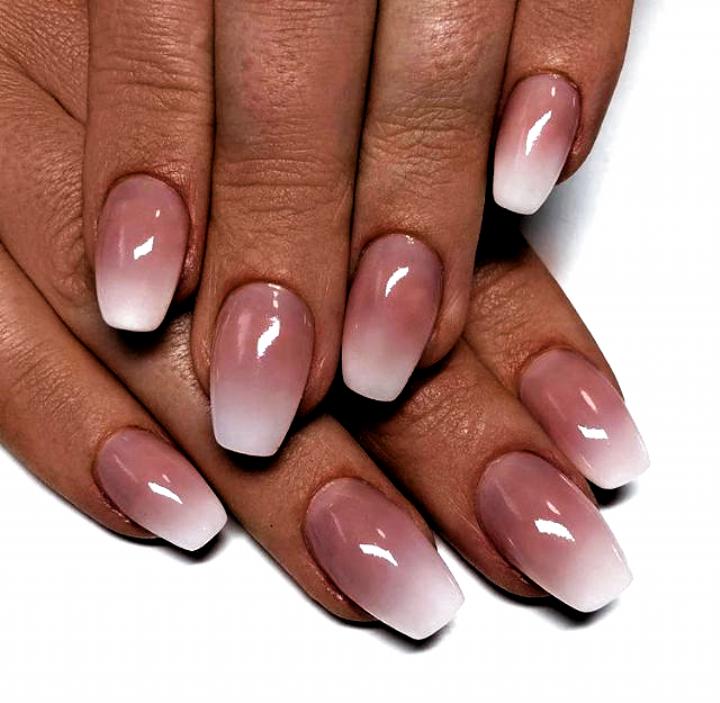 White SNS nails | Sns nails colors, Dipped nails, Pink nails