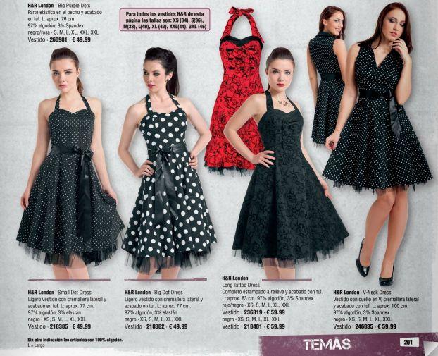 #rockabilly #lolita #pinup style #dresses #vestidos & Faldas! #empspain click here to see our catalogue ONLINE! Haz clic aqui para ver nuestro Catalogo Online!