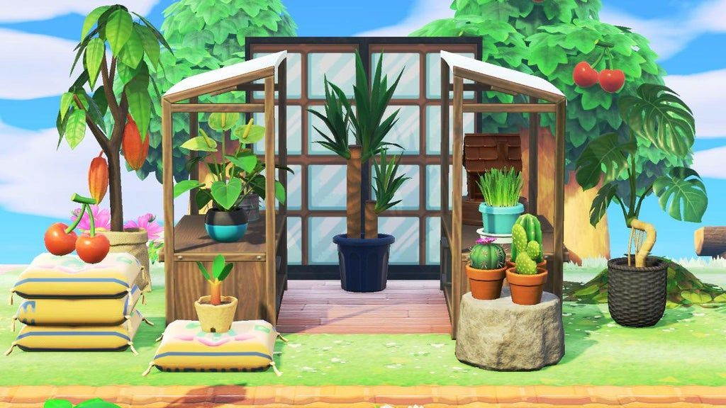 I made a neighborhood greenhouse inspired by all the