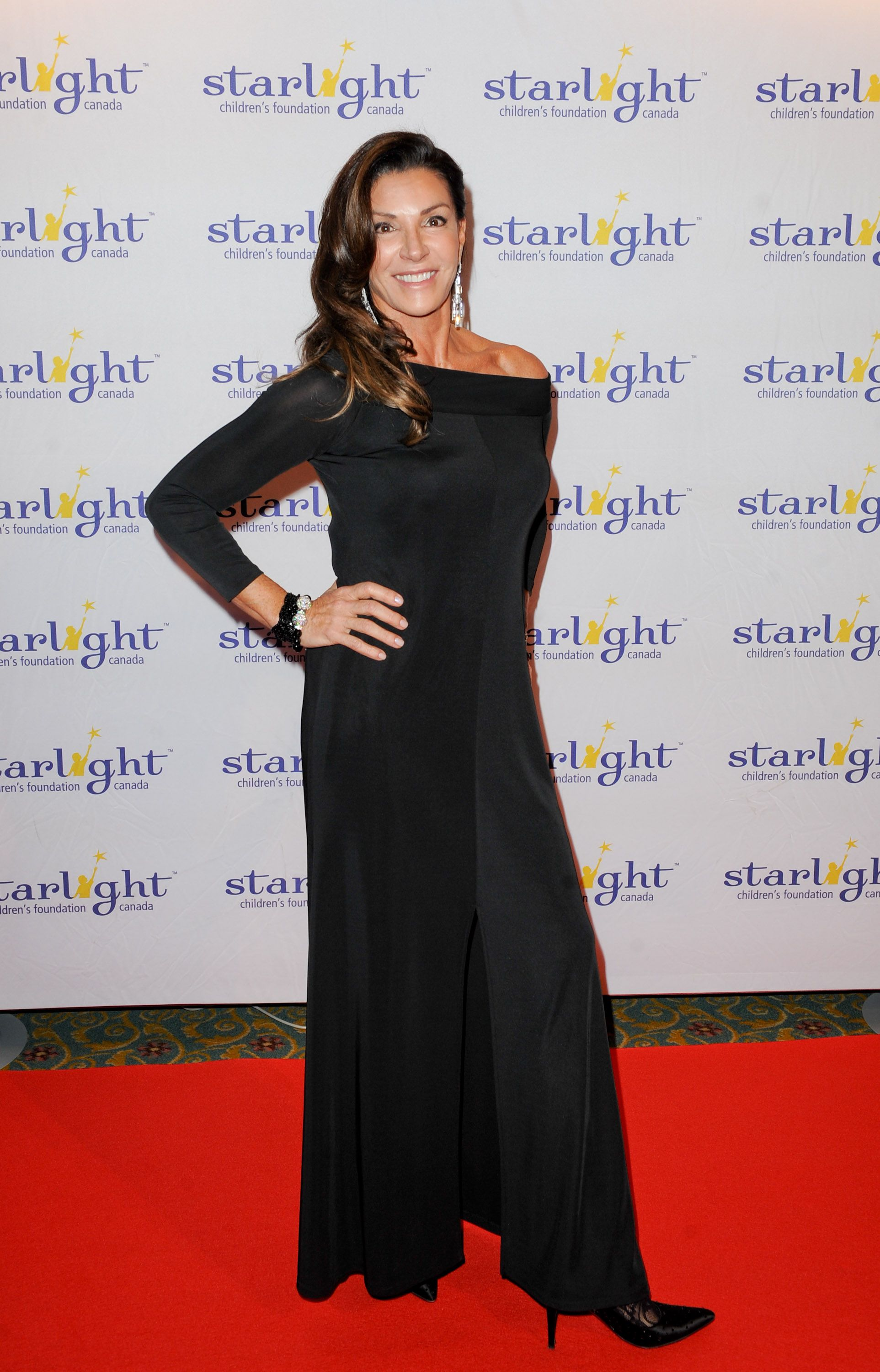 Hilary Farr at the Starlight event