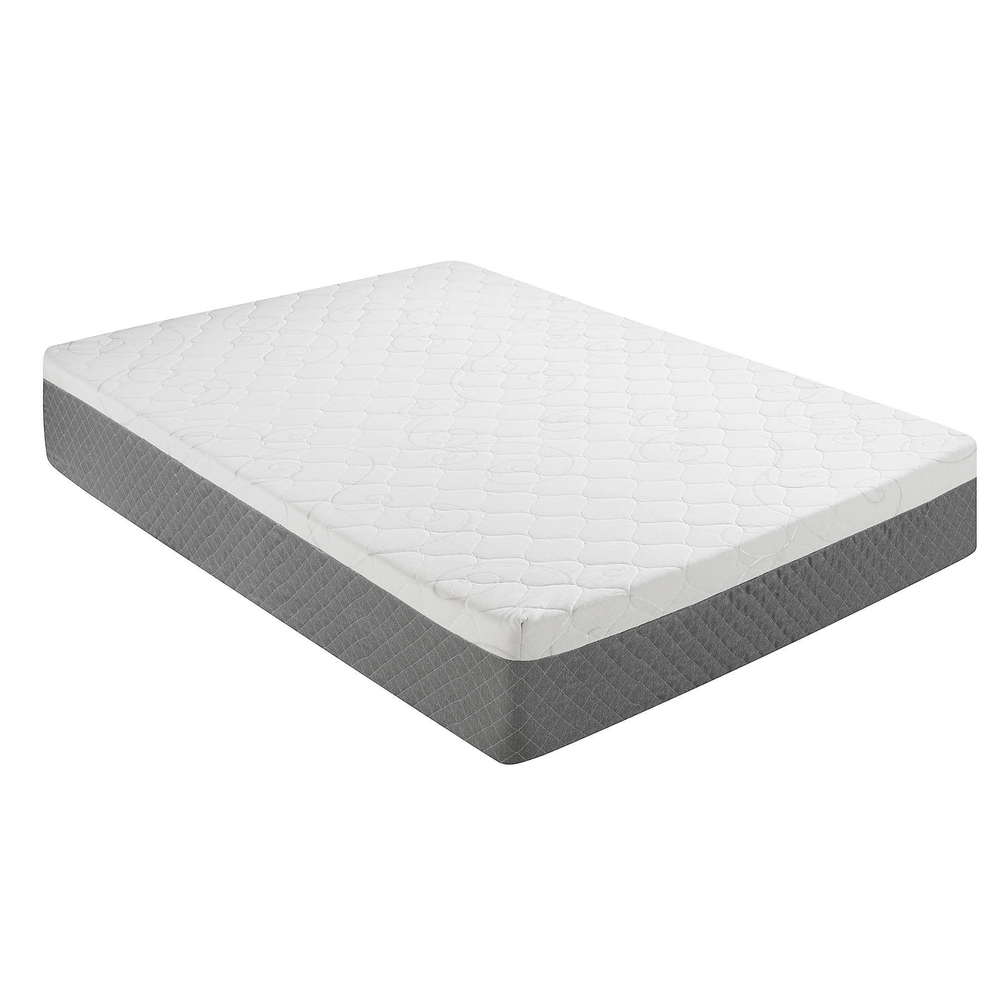 Amazon Com Sleep Innovations 12 Inch Gel Swirl Memory Foam