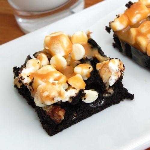 Caramel MarshmallowBrownies