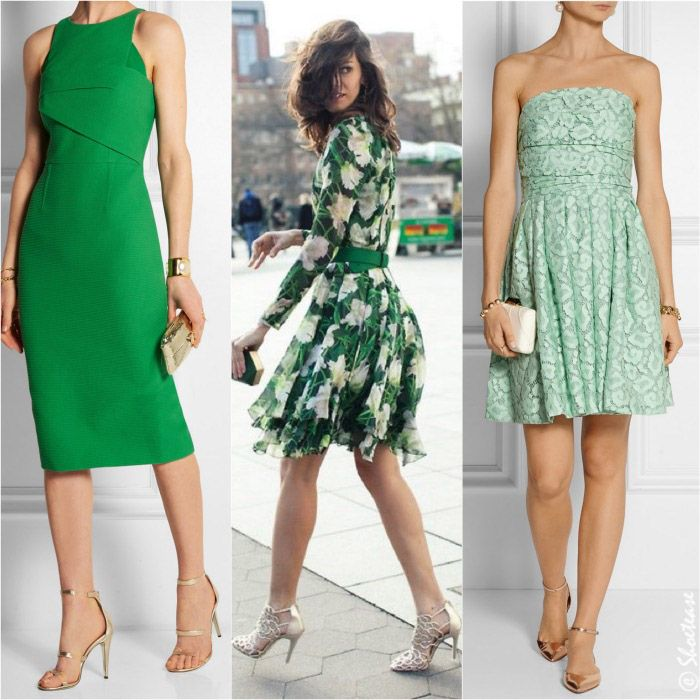 Shoes to Wear with Green Dress