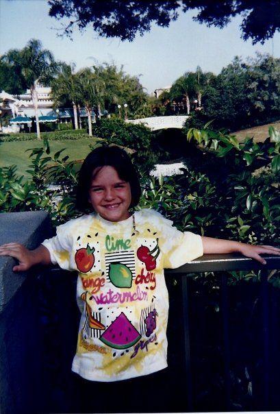 Elizabeth, Disney World 1994