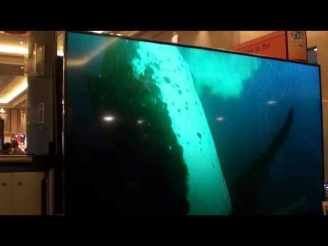 CES 2013 Hisense 65 inch 4K TV XT880 NEW PRODUCT Sony Samsung