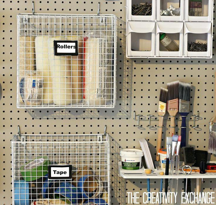 pegboard for garage pegboard garage organizer diy garage on top 55 best garage workshop ideas basics of garage workshop ideas explained id=43680