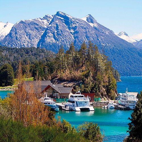 La Ciudad Argentina De Bariloche De Viaje Por Argentina Bariloche Argentina Argentina Turismo Argentina Paisajes