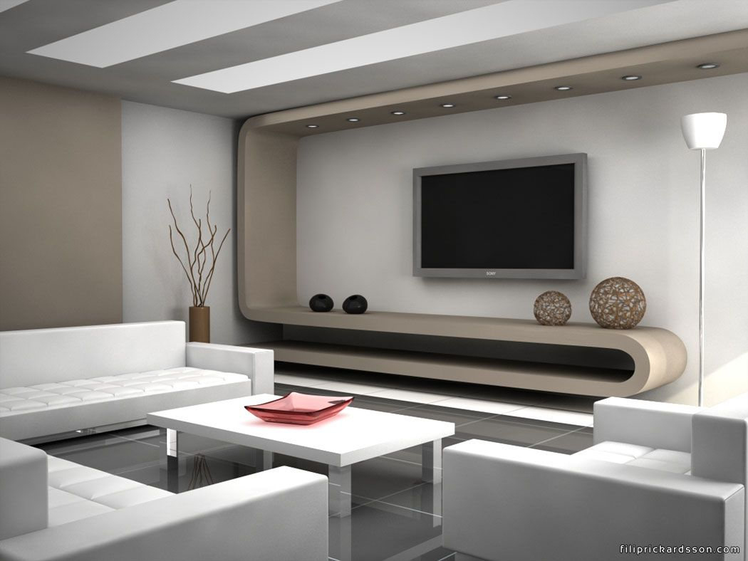 Modern living rooms divine modern decorations for living for Simple modern living room