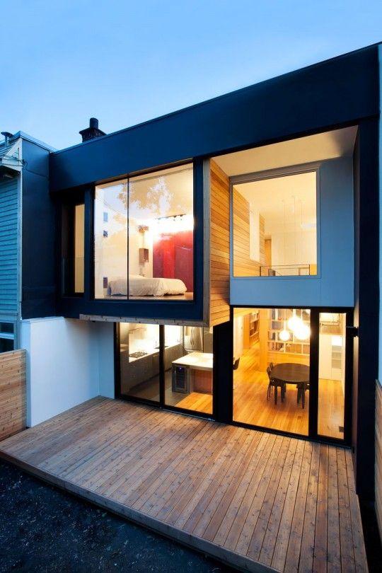 Résidence Chambord, un duplex des années 20 transformé en maison ...