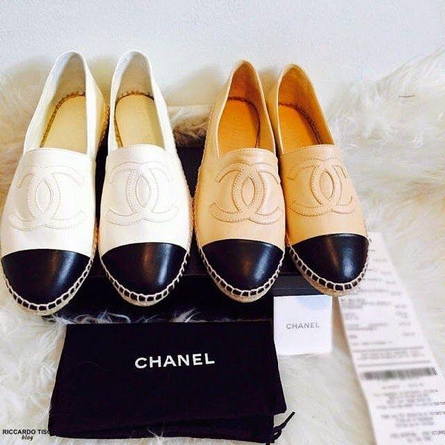 89cd92414b CHANEL Leather Espadrilles Online | Sneaker head | Chanel ...