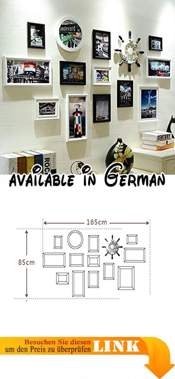YMXLQQ Wohnzimmer Foto Foto Wand Dekoration kreative Multi-Bild-Foto