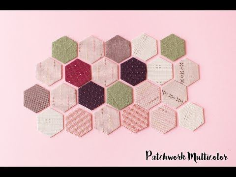 Pieceo con Papel, Hexágonos, EPP, English Paper Piecing | Hexágonos ...