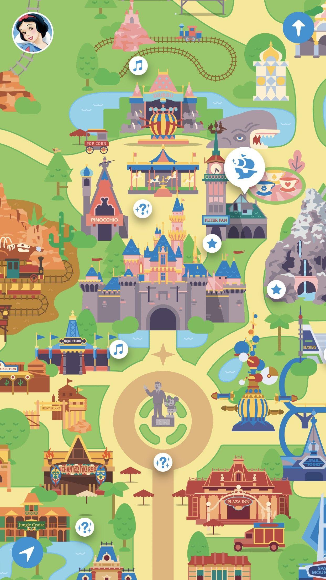 How to Use the Play Disney Parks App | Disneyland Daily in ... Disneyland Map App on disney world map app, disneyland street map, six flags map app,