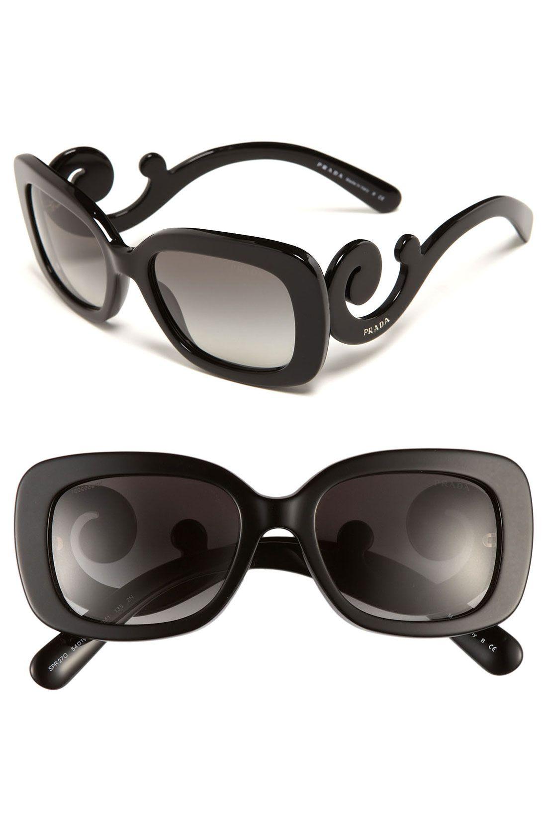2a92290b9e09 Prada 'Baroque' 54mm Sunglasses | ACCESSORIES .... Shoes, Bags ...