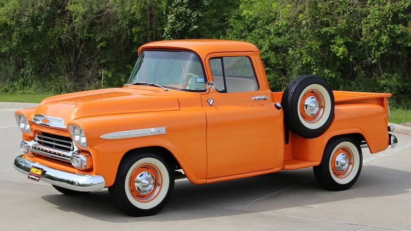 1959 Chevrolet Apache Pickup 1 Chevrolet Apache Classic