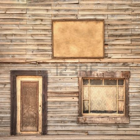 Rancho fondo fachada de madera de época occidental o el patrón de - fachada madera
