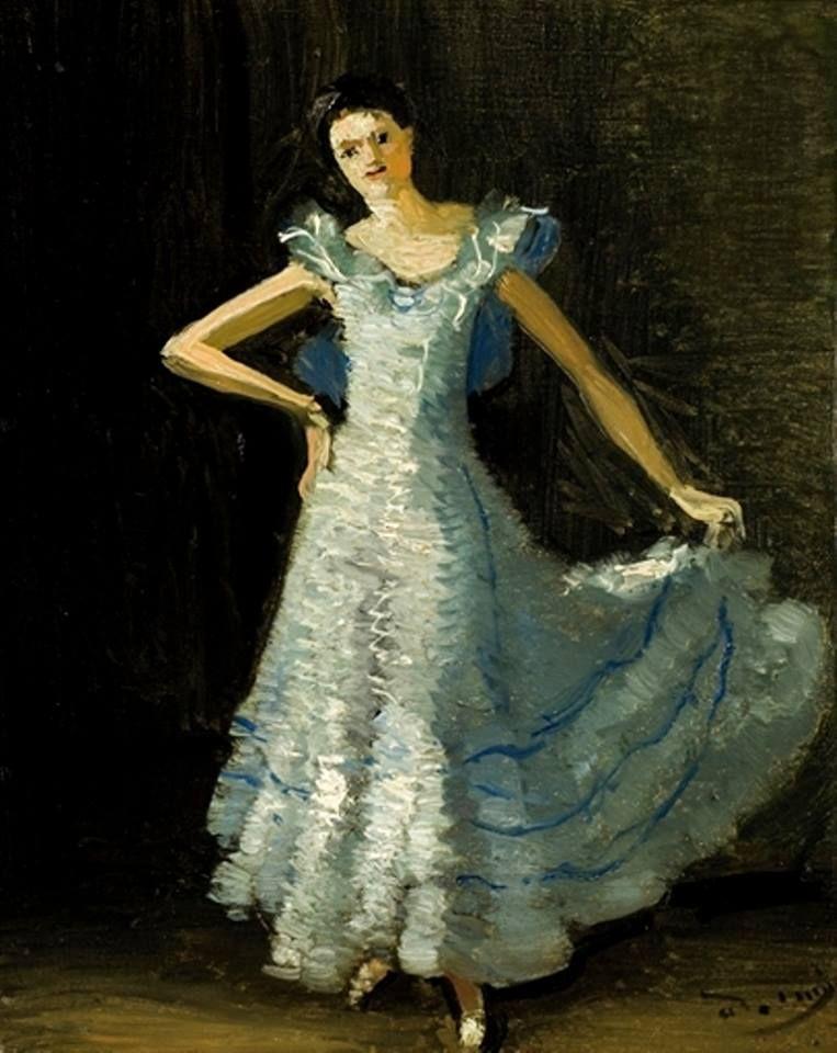 André Derain - La robe de bal, 1948 #arte