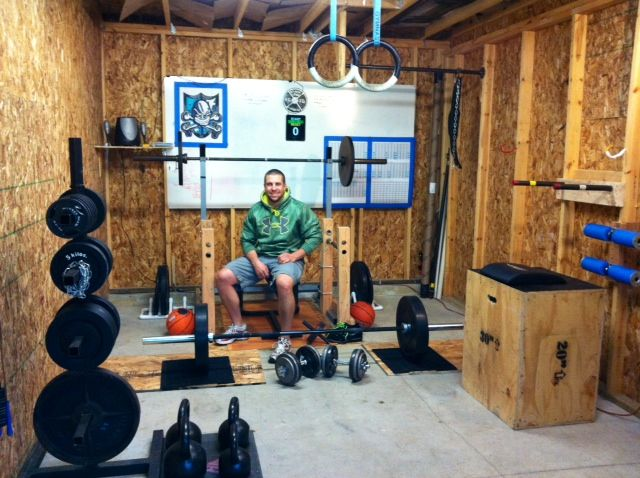 Making it work pinterest crossfit garage gym