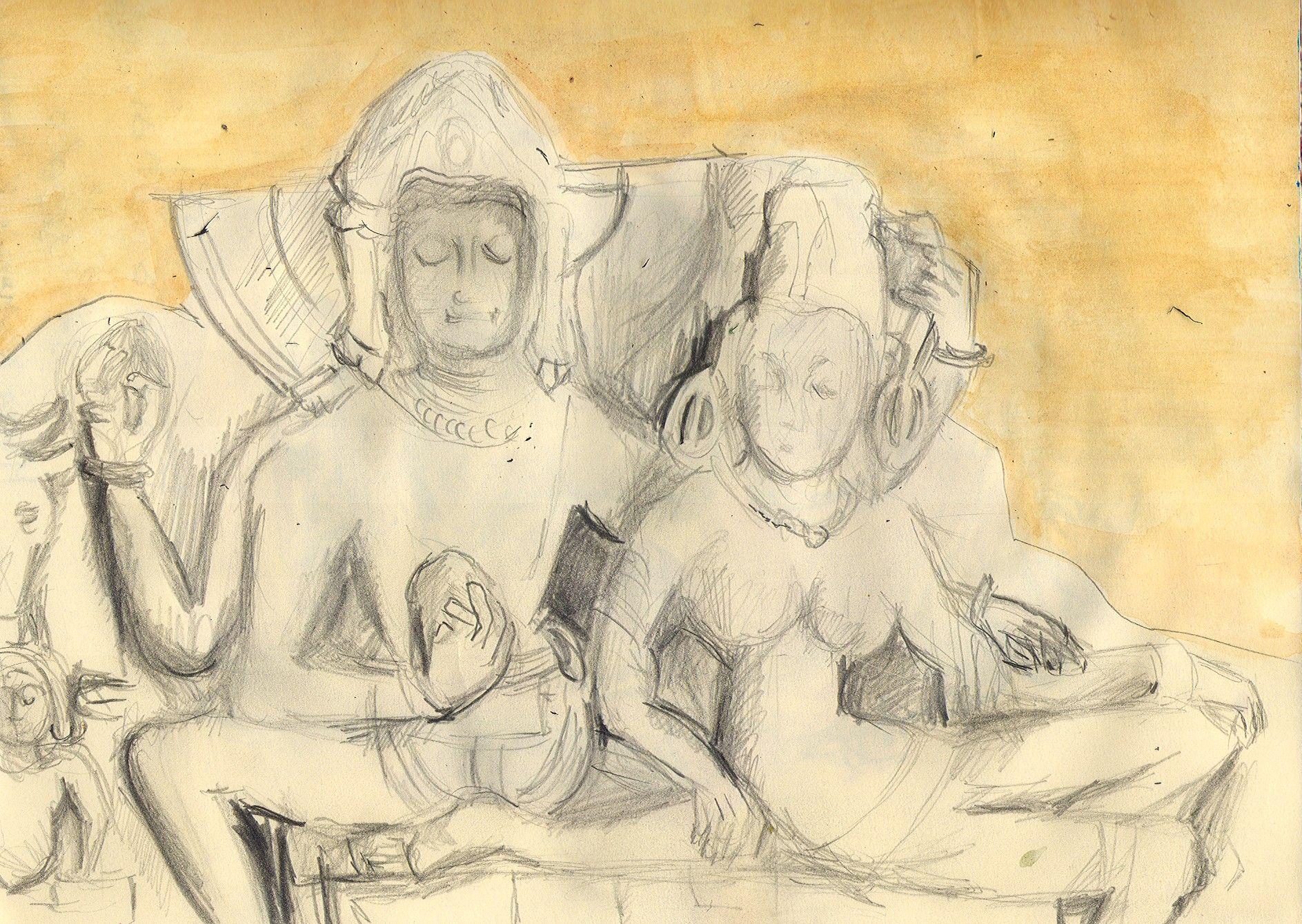 scultura di Ume Muheshvara al Museo