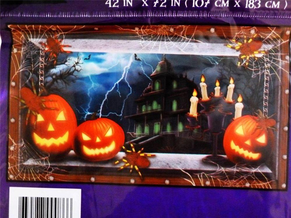 Halloween Decoration/House/Party~PUMKIN WALL CEILING/GRABBER~Scene - halloween scene setters decorations