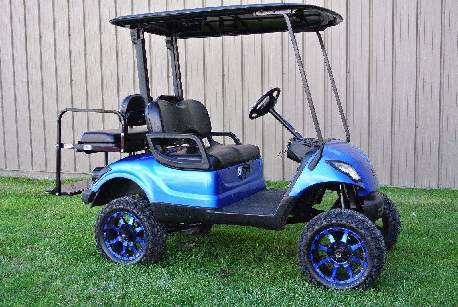 custom painted 2014 Yamaha GOLF CART | Golf carts | Yamaha