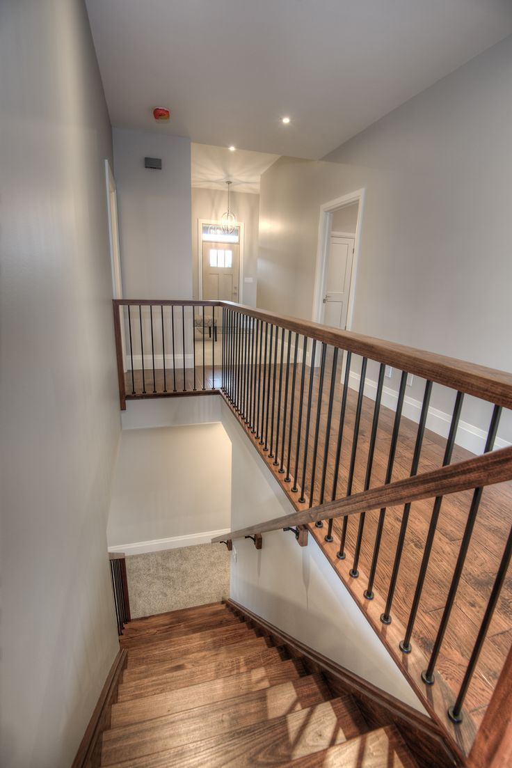 Best Hardwood Stair Finished In Red Oak Hardwood Stairs 400 x 300