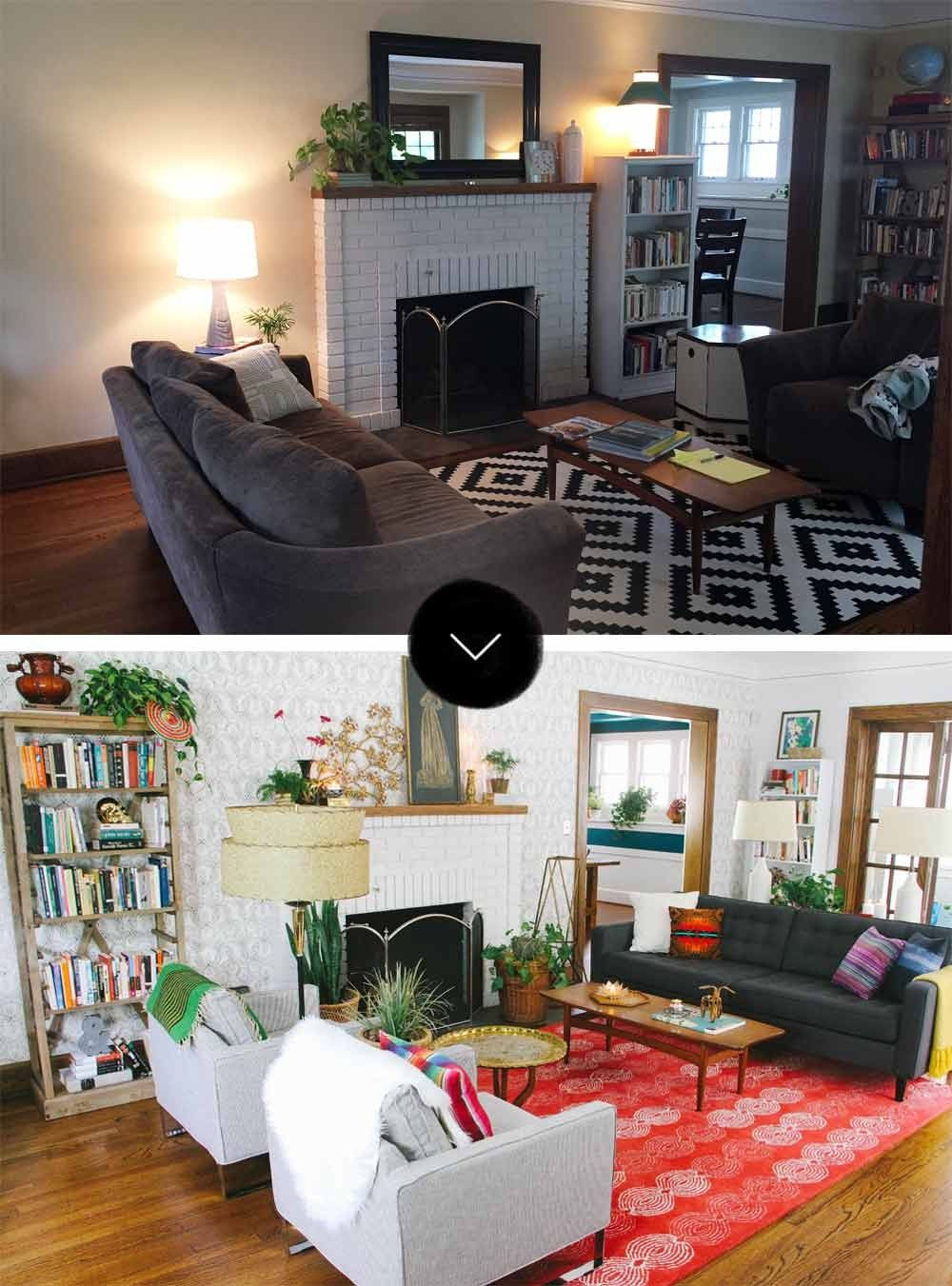 In A Charming 1917 Omaha NE Home Interior Decorator And Blogger Megan Pettipoole Helped Modern BohemianBlog DesignBefore AfterNebraskaFamily