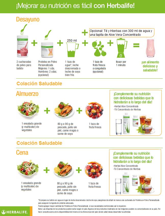 Resultado de imagen para programa desayuno saludable herbalife