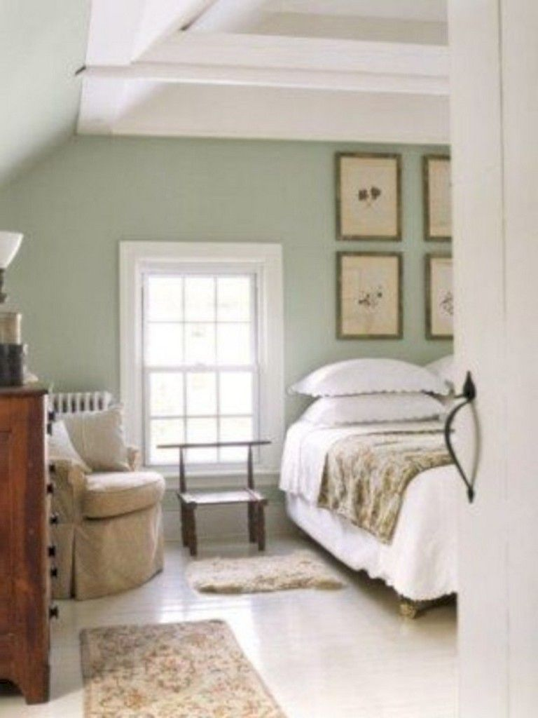 40+ Beauty Green Bedroom Design Decor Ideas images