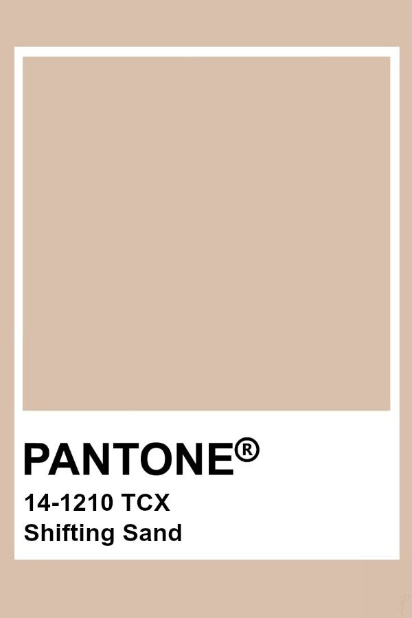 Pantone Shifting Sand Pantone Schoner Wohnen Farbe Farbtrends