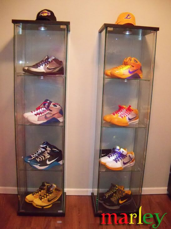 The Detolf With Sneakers Display Caseikeasneakers