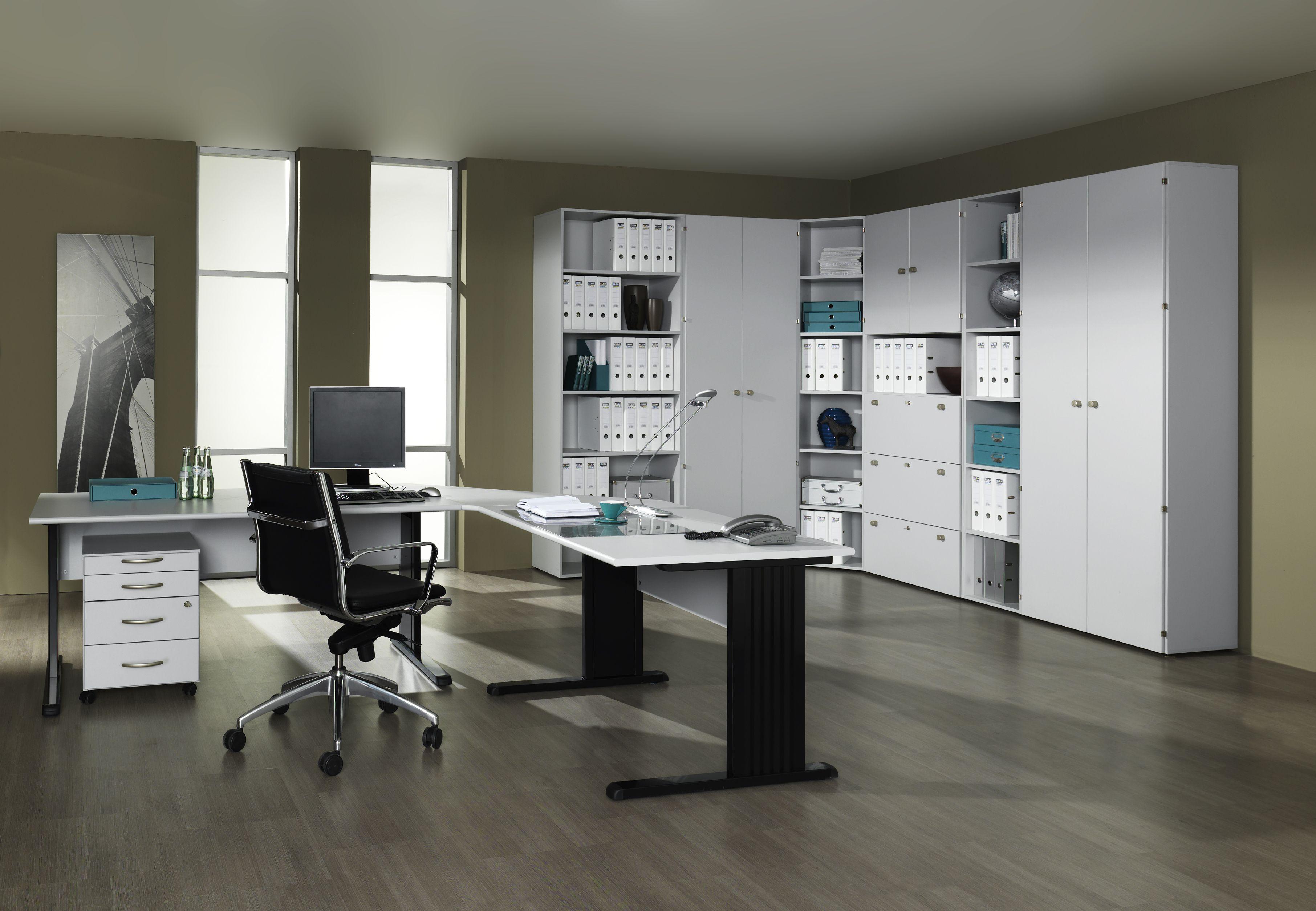 Büromöbel BRAVO Office-Grau von Schäfer Shop | Büromöbel BRAVO von ...