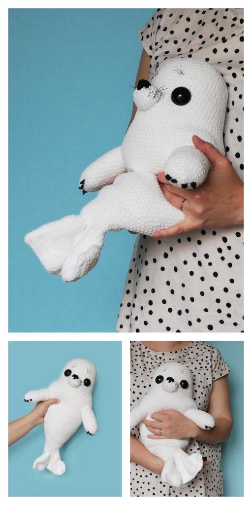 Amigurumi Baby Seal Crochet Free Pattern – Amiguru
