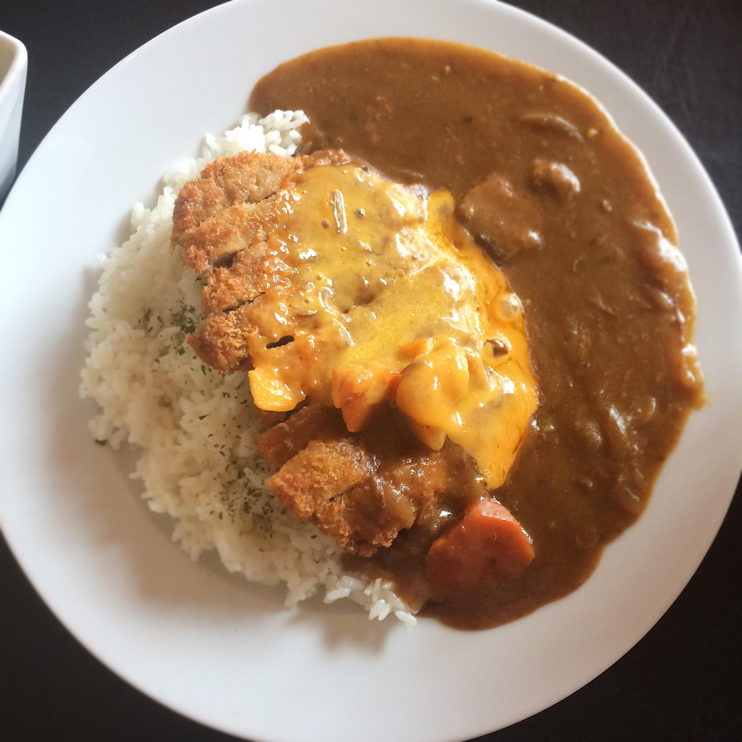 I Ate Katsu Japanese Curry With Melted Cheddar Recipes Food Cooking Delicious Foodie Foodrecipes Cook Recipe Health Japanese Curry