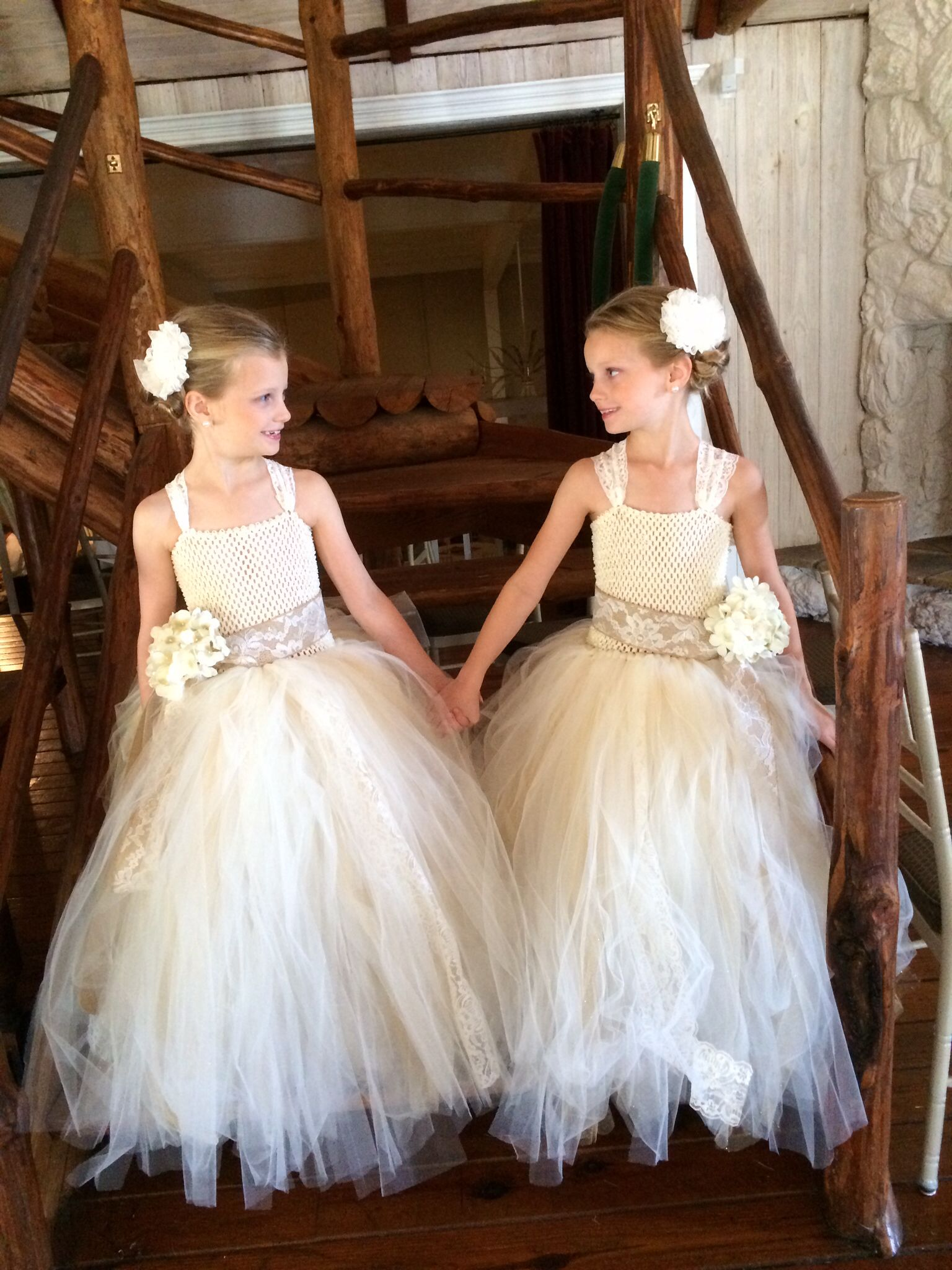 https://www.etsy.com/listing/167782117/lace-and-tulle-flower-girl-tutu-dress My beautiful girls