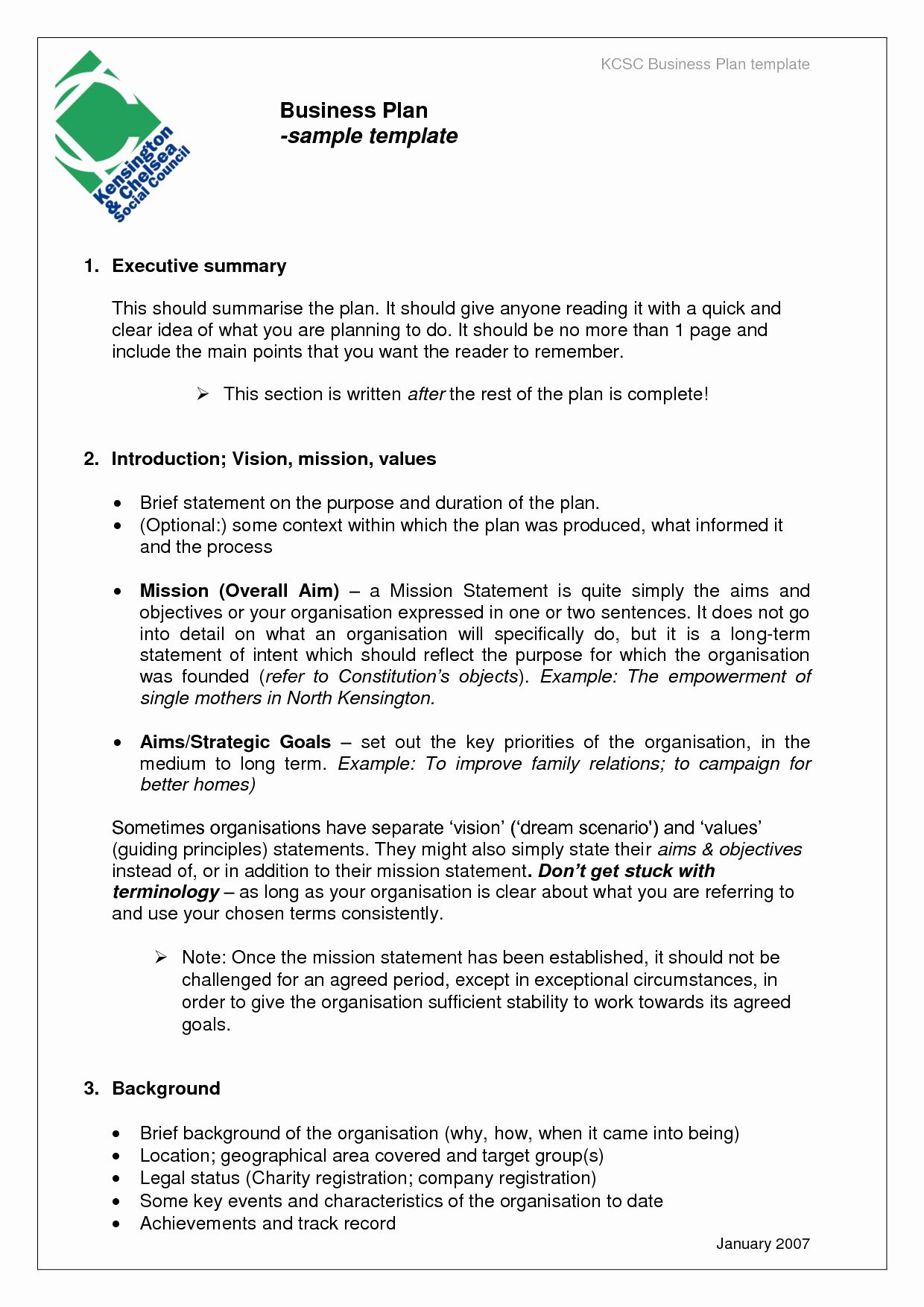 Business Plan Template Doc New 20 Business Plans Documents In 2020