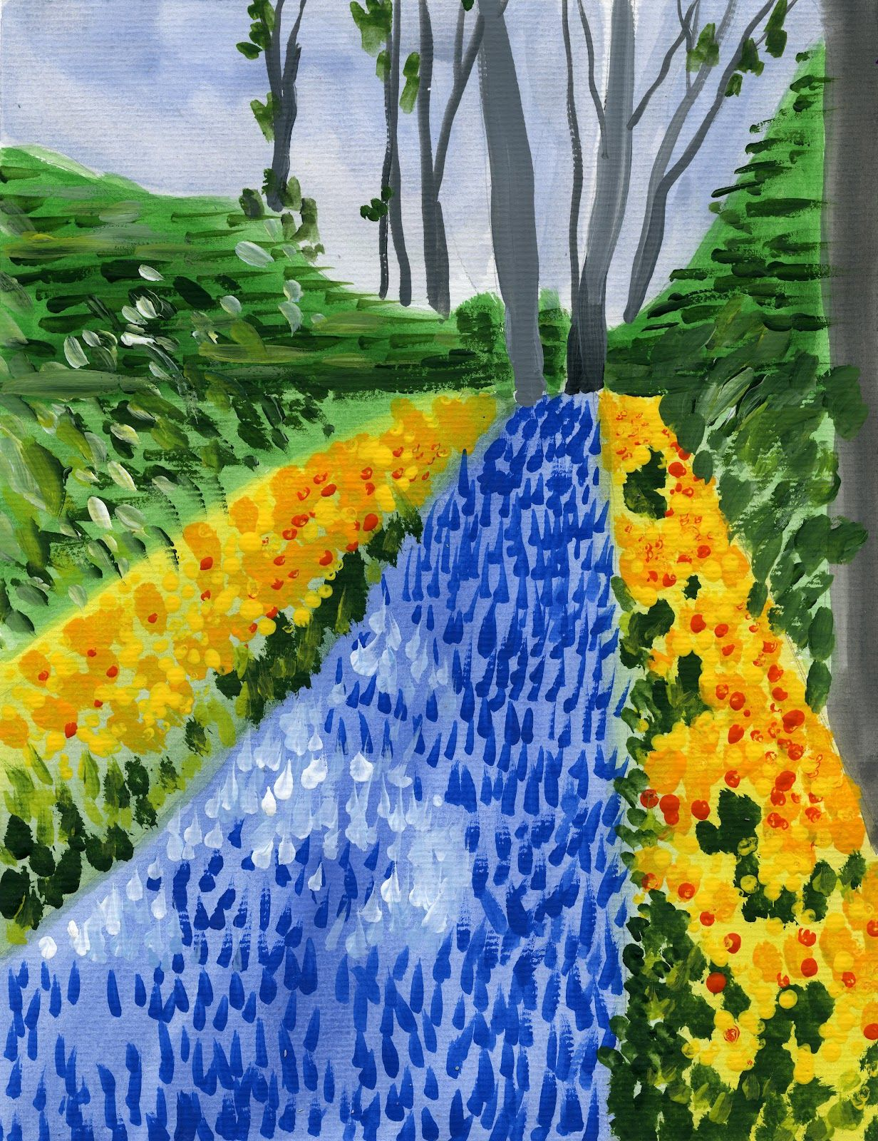 Impressionism lesson teaching kids art pinterest for Paintings to copy