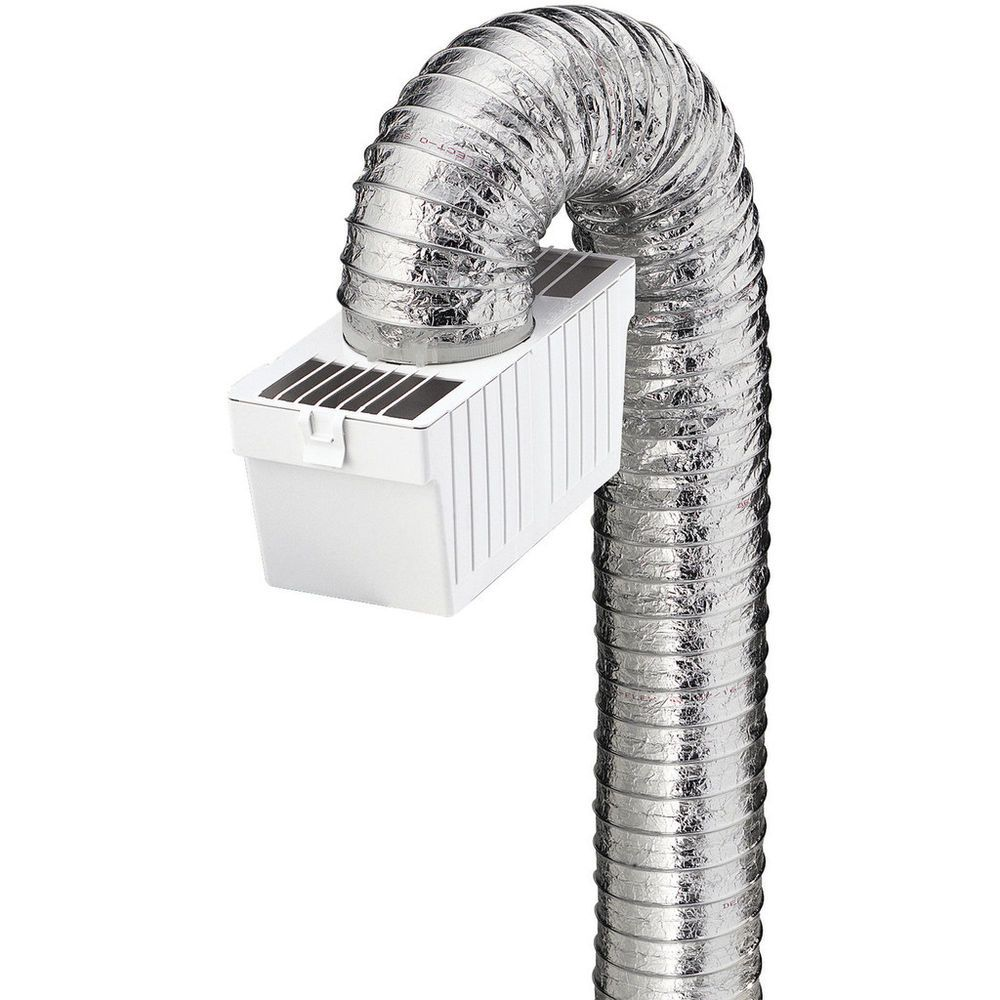 Details about Deflecto Dryer Lint Trap Kit, Indoor Venting