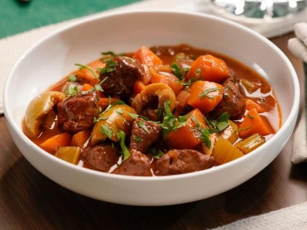 Lamb And Red Wine Stew Recipe In 2020 Lamb Stew Food Network Recipes Stew