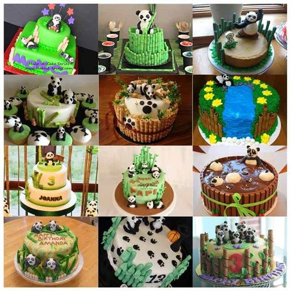 16 Creative Bamboo and Panda Cake DIY Ideas | Panda cakes, Cake ...