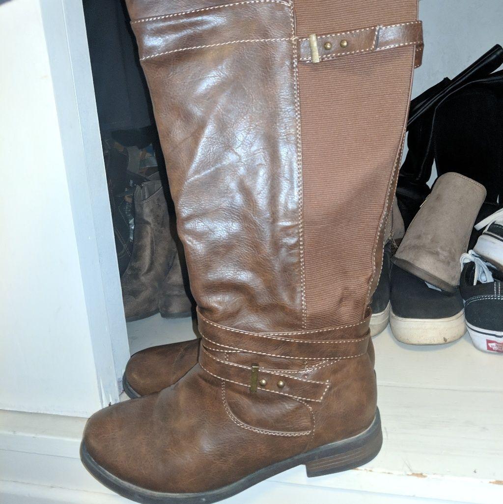 torrid Shoes | Wide Width Knee High Boots | Color: Brown