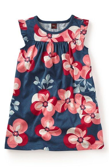 a8b50c8ca97 Tea Collection  Floreale Futuristico  Dress (Toddler Girls