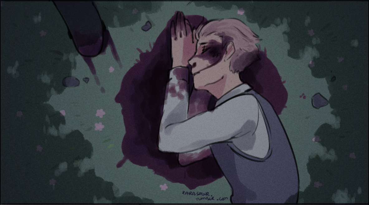 Karasawr on tumblr: My hand slipped (2/2)