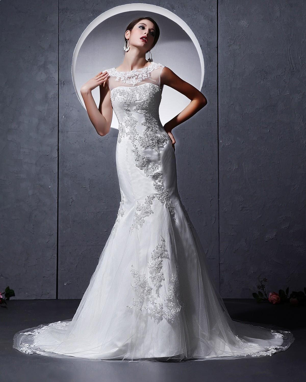 Sexy Mermaid Wedding Dresses 2014