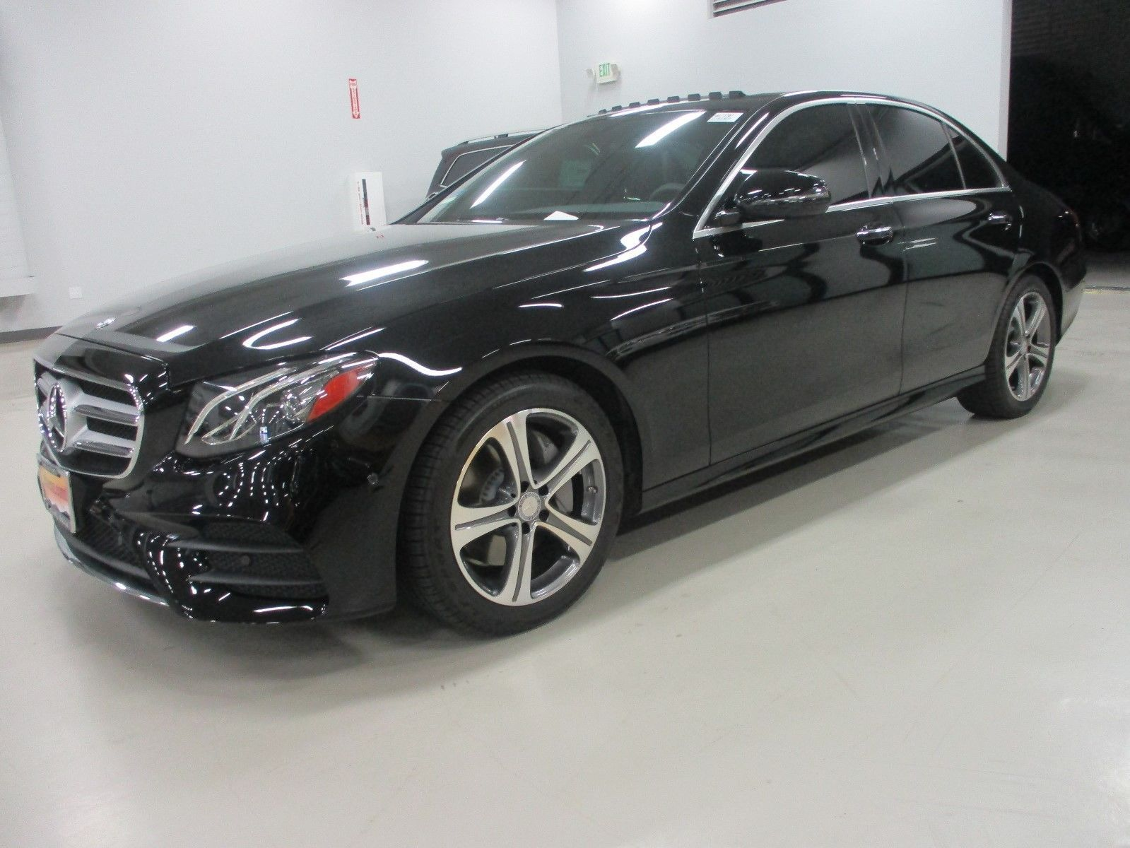 2017 Mercedes Benz E Cl E350 Sedan E300 Sport Black
