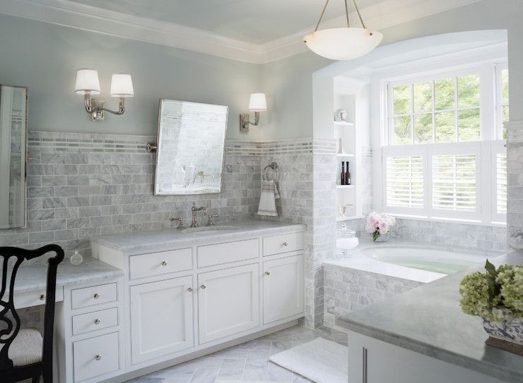 Donald Lococo Architects Bathrooms Alabaster Light