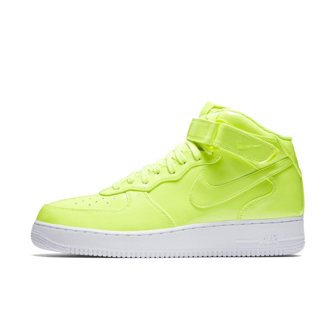 premium selection 7ec2d 2ef49 Nike Air Force 1 Mid '07 LV8 UV Men's Shoe Size 11.5 (Volt ...