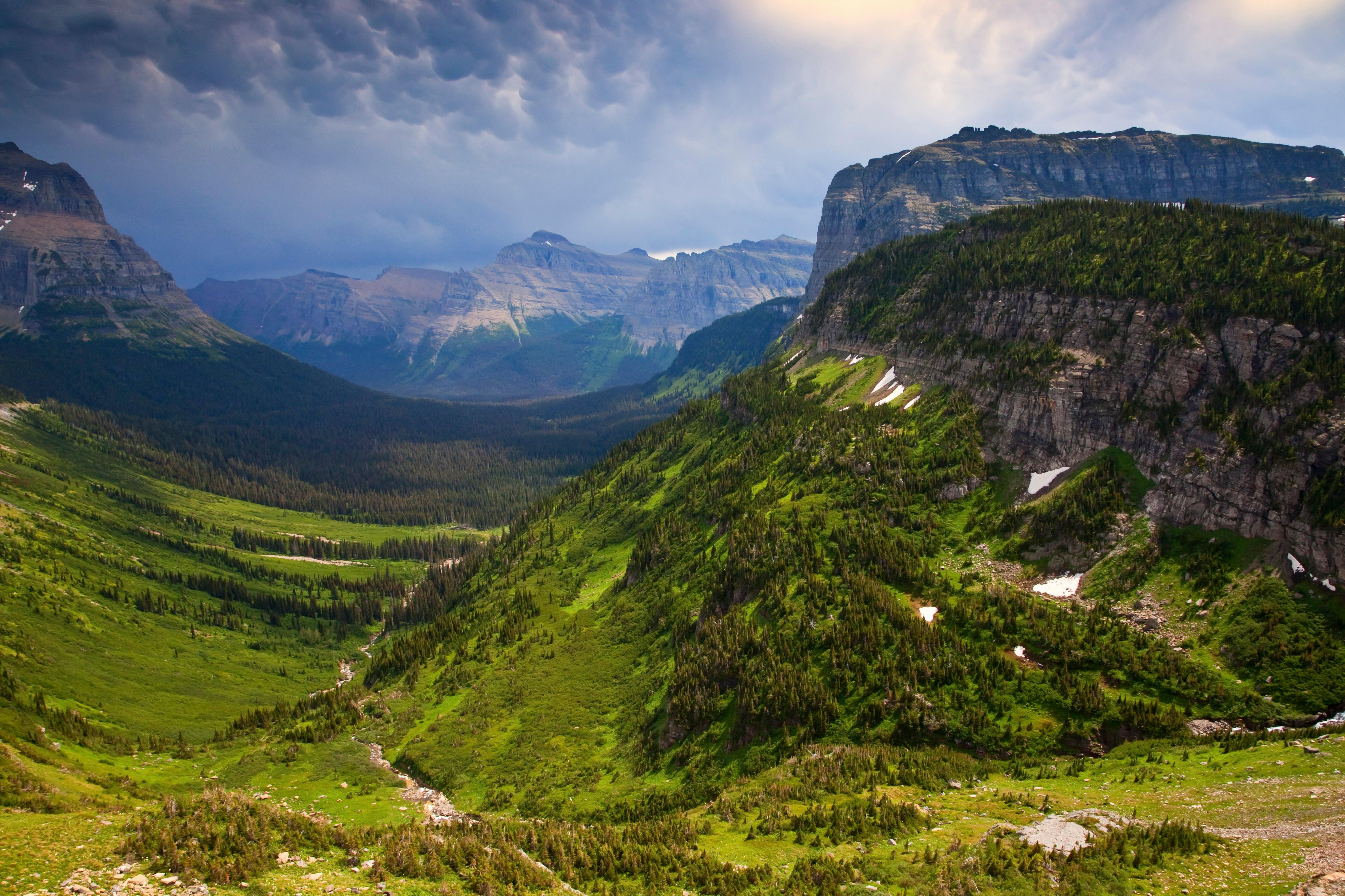 The world's best workplace … Glacier national park, Montana