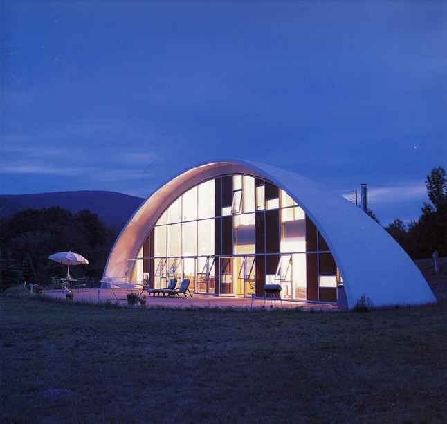Sy Rutkin   Shell Homes   Double Curved Concrete Shell Form Houses
